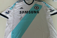 CHELSEA - FRANK LAMPARD SIGNED JERSEY UNFRAMED + PHOTO PROOF & C.O.A