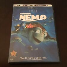 Finding Nemo 2003 Children's Animated Disney Pixar Mint 2 Disc Dvd