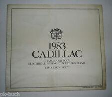 Elektrischer Schaltplan / Wiring Diagram Cadillac Cimarron Body Stand 1984
