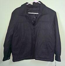 Perry Ellis Portfolio Polyurethane Cloth Jacket Size Large NEW