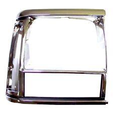Headlight Bezel Chrome Right Jeep Cherokee XJ 1991-1996 Crown 55034078