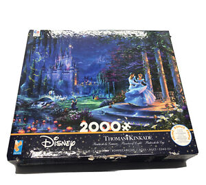 Disney Thomas Kinkade Cinderella Dancing in the Starlight Puzzle 2000 pieces