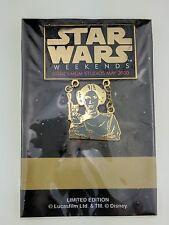 WDW Disney MGM Star Wars Weekends May 2000 Princess Leia Pin 1730 LE