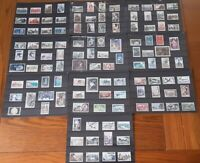France 1946 - 69  collection of 114 early stamps (11 scans)
