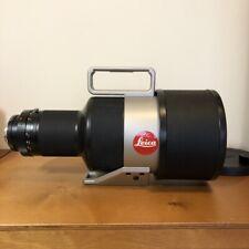 LEICA Apo-Telyt-R 1:2.8/400mm 11260 Rare case and lens hood
