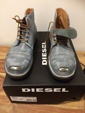 Diesel Men's Leather Boots Size 8