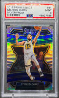Stephen Curry 2019-20 Panini Select Silver Prizm Concourse Level Warriors