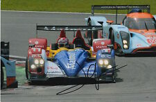 Nicolas Lapierre mano firmato 9x6 FOTO TEAM Oreca le Mans.
