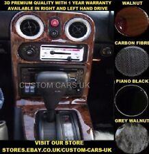 MAZDA MX5 1989-1998 MK1 MIATA EUNOS ROADSTER Dash Kit noce-Carbonio-Pianoforte Nero