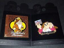 Disney Grumpy Pin Storybook Lot 2 Disneyland Favorites Dopey Photo Snow White