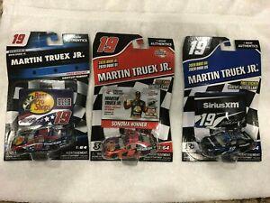 Martin Truex Jr NASCAR AUTHENTICS Diecast 1:64 Lot of 3   2019   2020  2020
