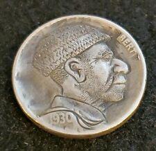 1930 Hand Carved Hobo Nickel