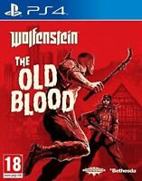 Wolfenstein The Old Blood  - MINT - PlayStation 4 PS4 Game - Super Fast Delivery