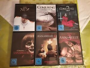 Annabelle 1-3, The Nun, Conjuring 1-2 DVD