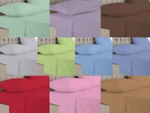 4 x Pillow Cases Housewife/Oxford Pair 100% Egyptian Cotton 180 Thread Count TC