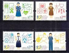 HONG KONG CHINA 2016 CENTENARY OF HK GIRL GUIDES COMP. SET OF 4 STAMPS MINT MNH