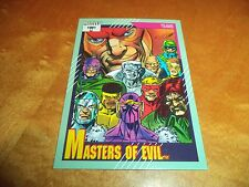 Masters of Evil # 157 - 1991 Marvel Universe Series 2 Impel Base Trading Card