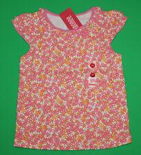 4t 4 Nwt Gymboree Freshly Picked Pink Orange Flower Shirt Top Girls
