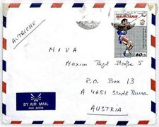 CM363 MAURITANIA Cover 1980 OLYMPICS Missionary Air Mail MIVA HAMMER THROWER