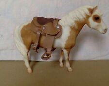 Vintage Breyer Horse White, Golden Brown Pinto Mare Breyer Molding Company 9 x 7