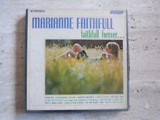 """Bande Magnetique Reel to Reel Tape 4 Track """" Marianne Faithfull , Faithfull Fore"""