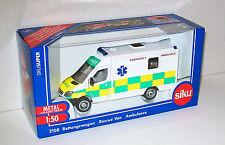 SIKU SUPER 1:50 Scale 2108 EMERGENCY AMBULANCE Die Cast/Plastic New & Boxed