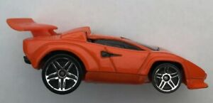 Hot Wheels Toy Car 1:64 2004 Orange Lamborghini Countach