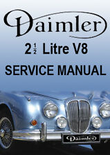 DAIMLER 2.5 LITRE V8 SALOON WORKSHOP MANUAL