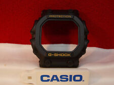 Casio Watch Parts GX-56 1B Bezel Black Gold Letters & GXW-56 1B.Shell w/PushPads
