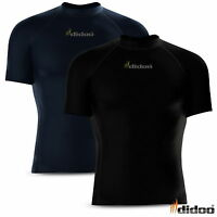 Mens Compression Base layer tops Half sleeve tight fit Armour running shirt gym
