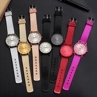 Classic Women Watch Wrist Silicone Mesh Belt Watch Band Quartz Casual Watches