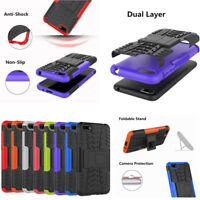 For Huawei Honor 7S Hybrid Shockproof Heavy Duty Armor Kickstand Case Cover Skin