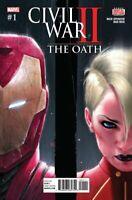 Civil War II The Oath #1 Main Cover Captain Marvel Comic 1st Print 2017 NM