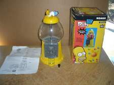 The Simpsons Magic Gumball Machine in original box-metal and glass-Homer on top!
