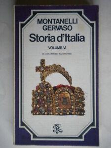 Storia d'Italia VI 6 da Carlomagno all'anno 1000Montanelli Carlo Magno bur 31