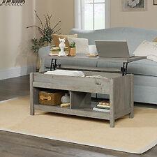 Sauder Living Room Lift Top Storage Coffee Table Mystic Oak Finish