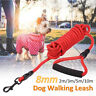 Long Dog Horse Training Lunge Leash Webbing Line Lead Recall Obedience Rope RED
