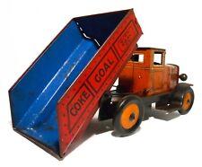 LOUIS MARX & CO NY 1930'S VINT COKE COAL CITY COAL CO LITHO'D TIN TOY DUMP TRUCK