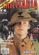 MILITARIA MAGAZINE, N° 40 DE 1988. LES INSIGNES DE CASQUE BRITANNIQUE 1914-18
