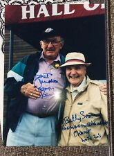 Carmen Basilio & Billy Soose Boxing Welterweight Champion SIGNED 8x10 Photo COA