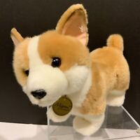 Plush Corgi Dog Miyoni by Aurora 10 inch Stuffed Animal Pembroke Welsh Puppy