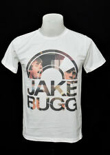 White crew t-shirt Jake Bugg LG folk rock cotton CL tee size L