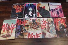 WOLF #1-9 Complete Lot Set Run Series VF Image Comics Noir