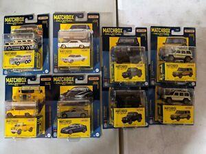 Matchbox Collectors Series Set of 8 Cars - 01, 10, 16, 17, 19, 20