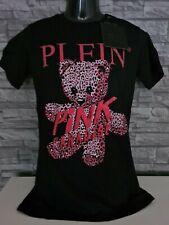 "PHILIPP PLEIN T-SHIRT ROUND NECK SS ""PINK PARADISE"" / XL / NEU /"