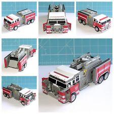 """Transformers Stealth Force Inferno 6"""" Jouet motorisé Hidden Weapon fire engine"""
