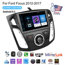 9' Android 9.1 Car Radio Stereo Gps 2+32Gb w/ Canbus For Ford Focus 2012-2017