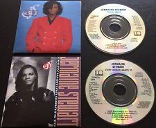 "JERMAINE STEWART Tren De Amor / Every Woman Wants To *RARE* 1989 AUSTRIA 2x CD3"""