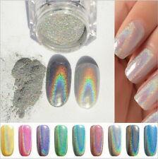 Holographic Powder 1G/Pot Rainbow Unicorn Effect Mirror Chrome Nails Pigment