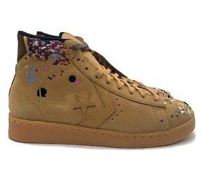 Converse X Bandulu Pro Leather Mid (Men's Size 10.5) Retro Basketball Shoe Brown